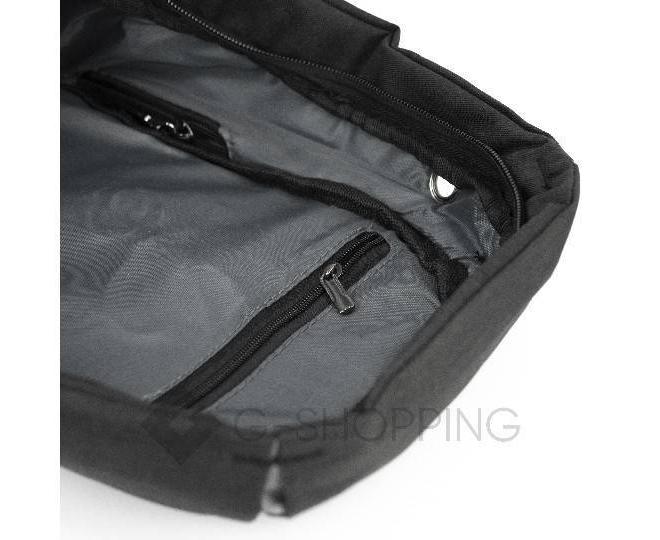 Рюкзак текстильный черный C130-01 Kingth Goldn, фото 6