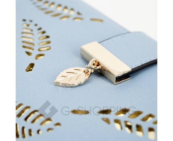 Кошелек женский голубой Kingth Goldn, фото 6
