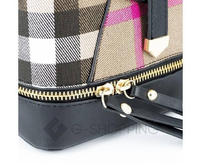 Сумка-рюкзак черный C141-01 Kingth Goldn, фото 3