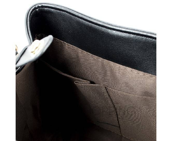 Сумка-рюкзак черный C141-01 Kingth Goldn, фото 6