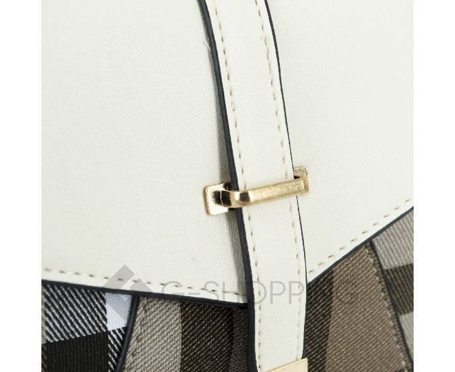 Женский мини-рюкзак из ткани в сочетании с экокожей Kingth Goldn C141-02, фото 5