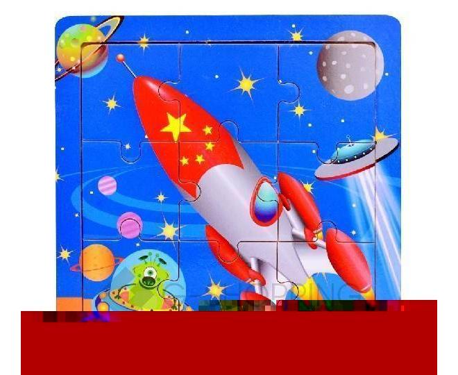 """Детская настольная игра пазл """"Веселая ракета"""" PT0010 Dolemikki, фото 1"""