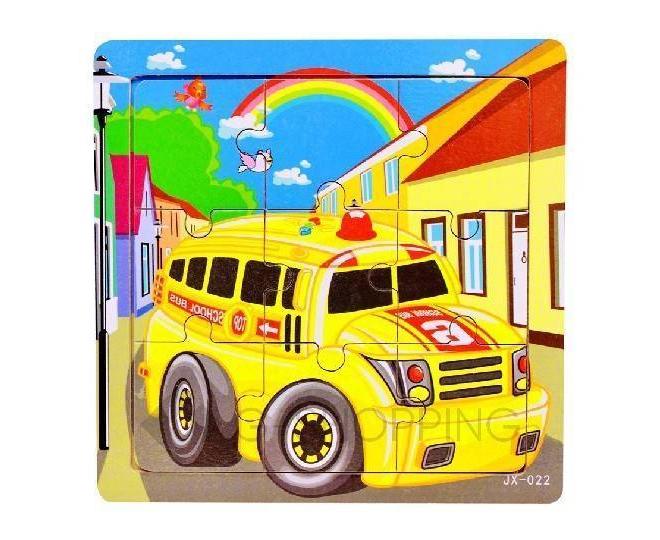 """Детская настольная игра пазл """"Школьный автобус"""" PT0011 Dolemikki, фото 1"""