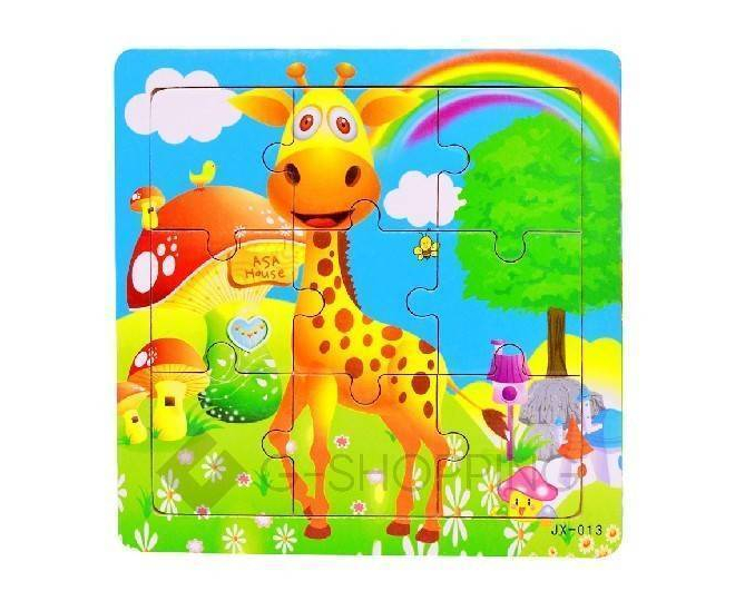 """Детская настольная игрушка пазл """"Жираф"""" PT0014 Dolemikki, фото 1"""