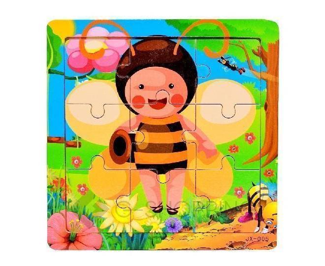 """Детская настольная игра пазл """"Пчелка Ня"""" PT0015 Dolemikki, фото 1"""