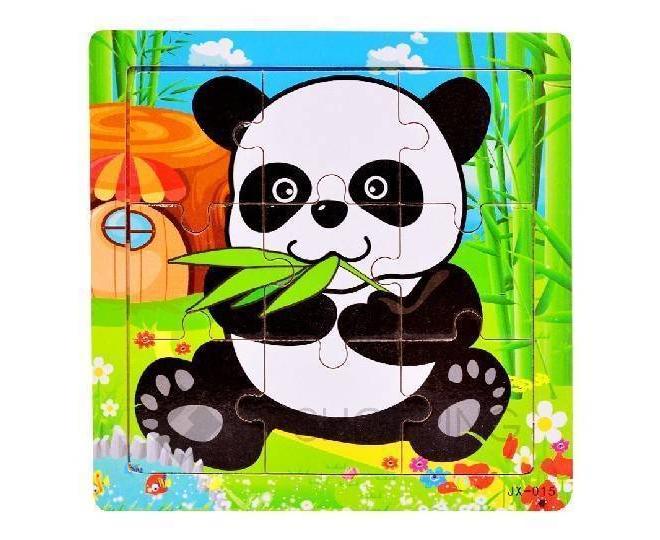 """Детская настольная игра пазл """"Добрая панда"""" PT0022 Dolemikki, фото 1"""