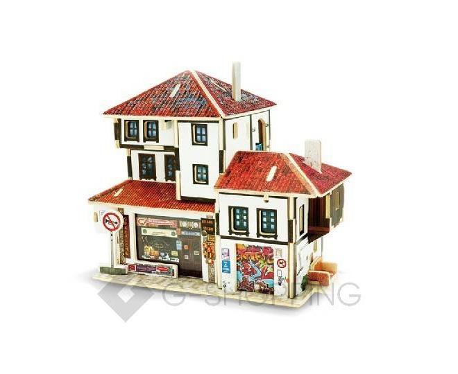 """Сборная деревянная модель дома из серии """"Турция"""" PT0032 Dolemikki, фото 1"""
