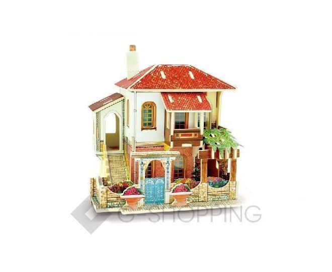 """Сборная деревянная модель дома из серии """"Турция"""" PT0033 Dolemikki, фото 1"""