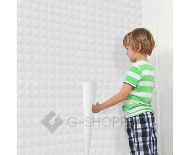 Панели для стен белые QT0001-02, фото 5