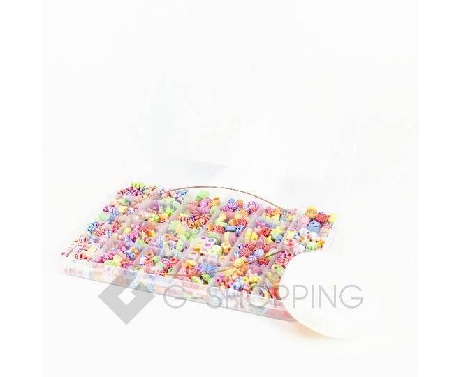"""Детская развивающая игрушка """"Цветные бусы""""  WJ0022 Dolemikki, фото 3"""