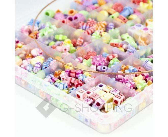 """Детская развивающая игрушка """"Цветные бусы""""  WJ0022 Dolemikki, фото 4"""