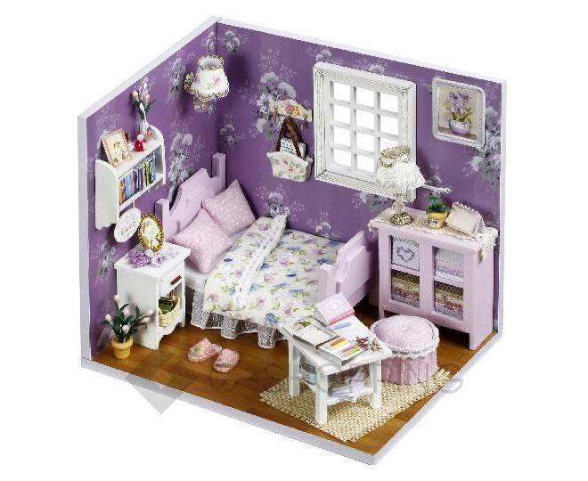 """Детская игрушка кукольный домик """"Фиолетовые сны"""", ZQW02, Dolemikki, фото 1"""