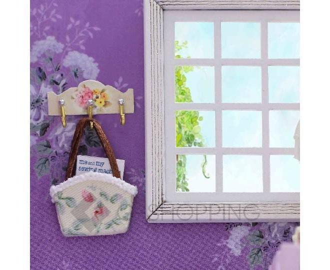 """Детская игрушка кукольный домик """"Фиолетовые сны"""", ZQW02, Dolemikki, фото 2"""