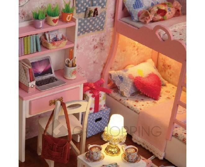 """Детская игрушка кукольный домик с мебелью """"Розовые сновидения"""", ZQW07, Dolemikki, фото 2"""