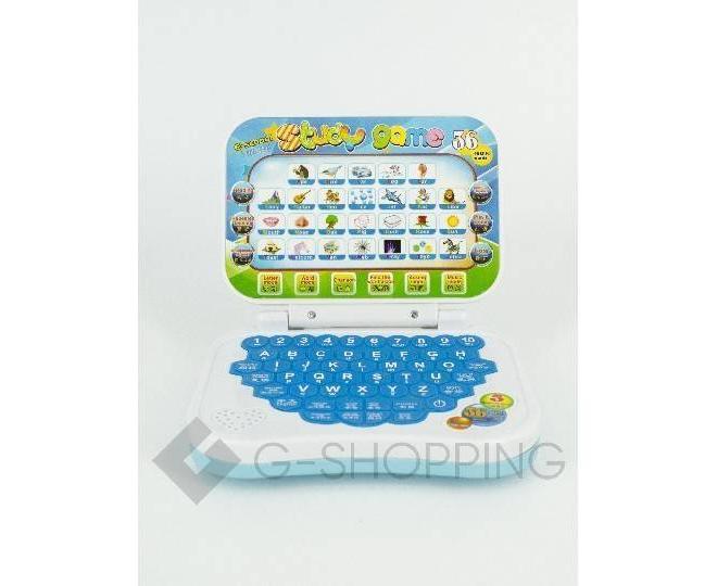 Детский обучающий ноутбук WJ0089 Dolemikki, фото 1
