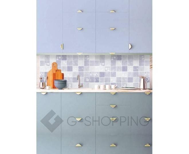 Наклейка для кухни RYP-36-06 синяя USLANBFAY, фото 1