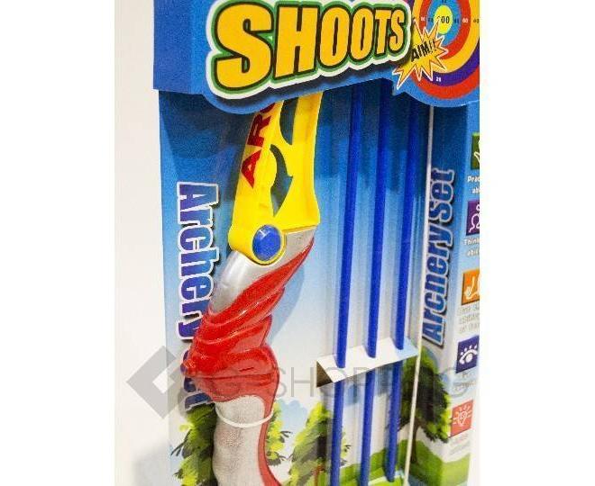 Игрушечный набор для стрельбы из лука Dolemikki, фото 3