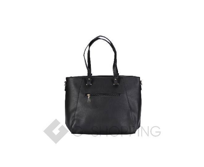 Черная сумка на молнии, фото 3