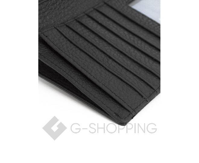 Женский кошелек из черной лакированной кожи с тиснением под рептилию WP13-465-6 KINGTH GOLDN, фото 5