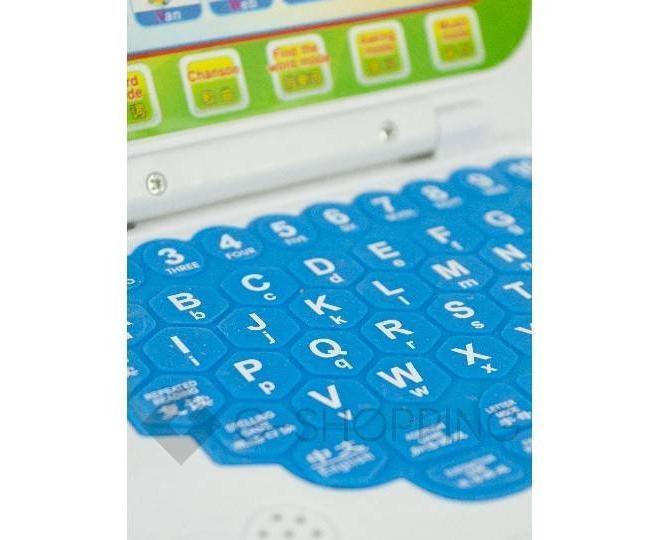 Детский обучающий ноутбук WJ0089 Dolemikki, фото 4
