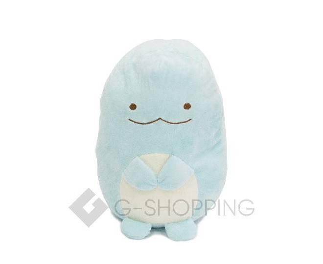 Мягконабивная игрушка-подушка Динозаврик голубого цвета, фото 4