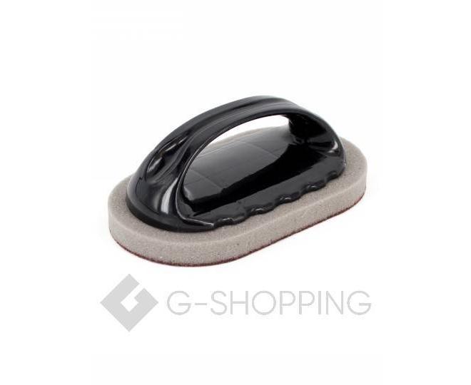 Многофункциональная чистящая губка для рабочих поверхностей с удобной пластиковой ручкой, фото 1