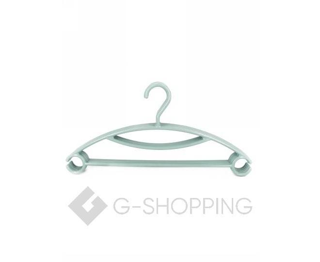 Набор пластиковых вешалок для одежды 5 штук, фото 1