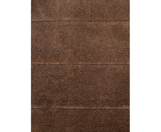 Антискользящий напольный коврик из кораллового флиса коричневый 18㎡, фото 2