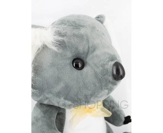 """Детская мягкая игрушка """"Коала"""" серая, фото 3"""