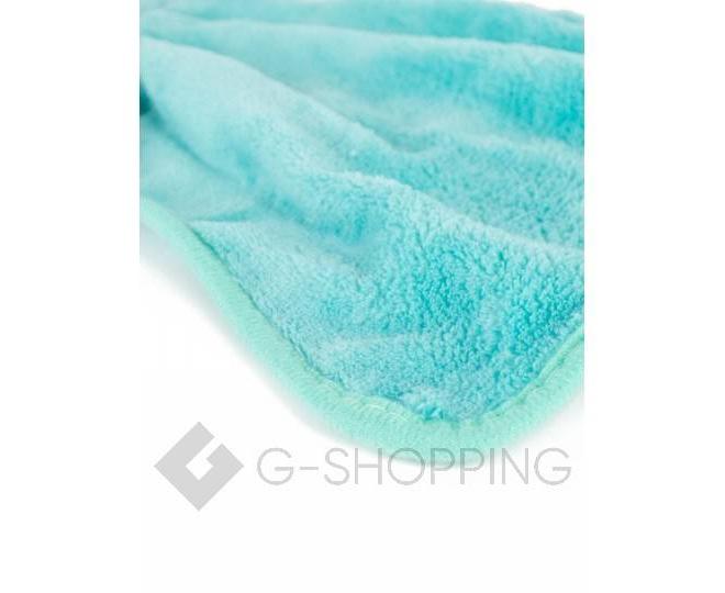"""Детское полотенце для рук """"Слоник""""  из кораллового флиса с крючком, фото 3"""
