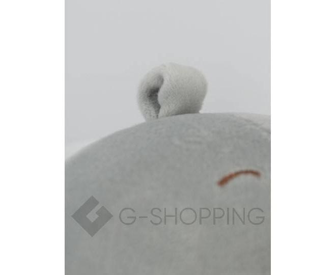 """Детская мягкая игрушка """"Слоник"""" серый, фото 4"""