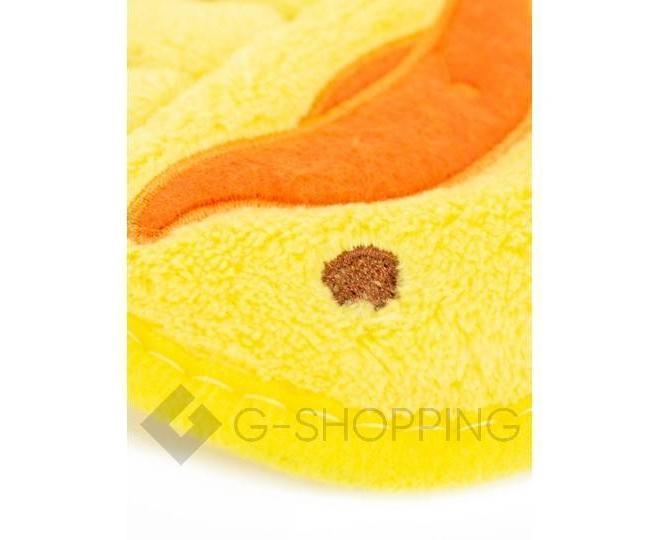 """Детское  полотенце для рук """"Утенок"""" из кораллового флиса с крючком, фото 5"""