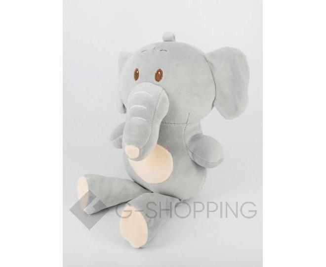 """Детская мягкая игрушка """"Слоник"""" серый, фото 5"""