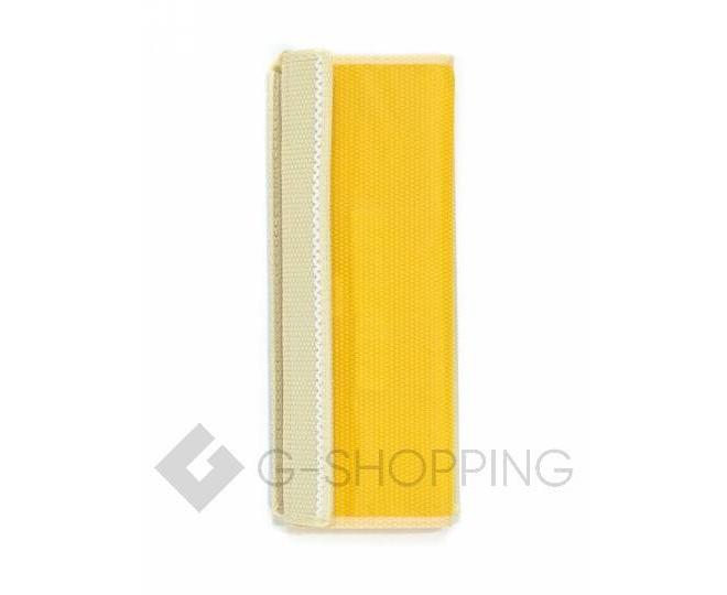 Текстильный органайзер для хранения нижнего белья желтый, фото 7