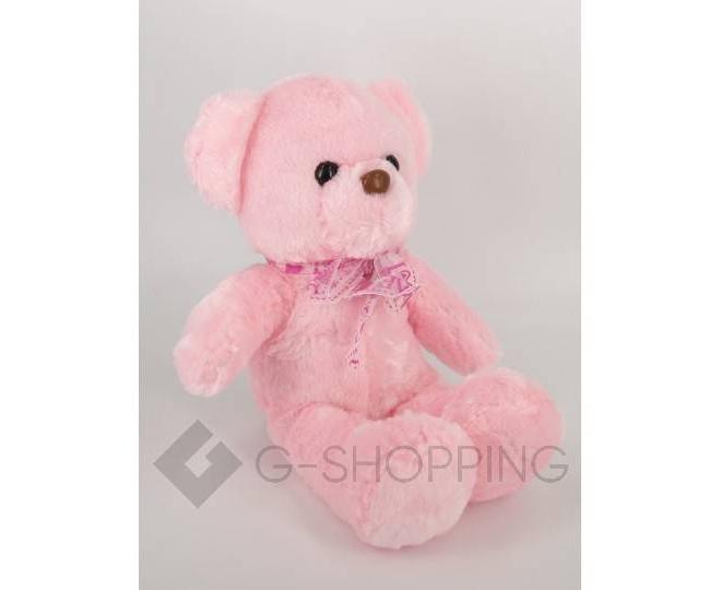 "Мягкая игрушка ""Светящийся мишка LOVE"" розовая WJ0061-11-A, фото 1"