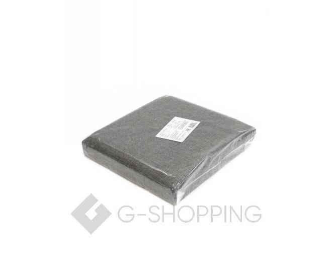 Стильный серый квадратный табурет с ящиком для хранения RYP57-23-30 30х30, фото 4