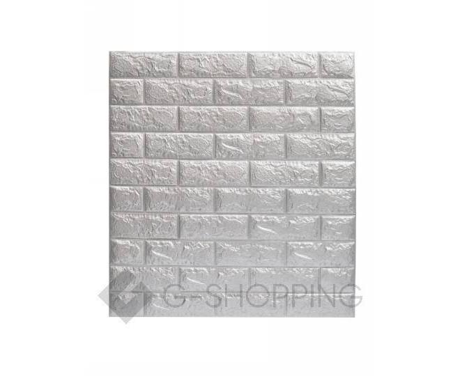 Самоклеющиеся панели для стен мягкие серые 70*77*0.1, фото 9