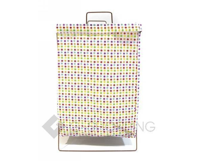 Складная корзина из хлопковой ткани для хранения игрушек/белья RYP80-B, фото 2