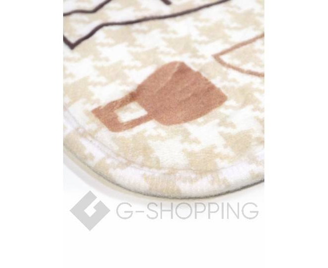 """Антискользящий влагопоглощающий напольный коврик """"Kitchen"""" R012-U-L, фото 2"""