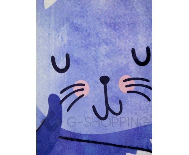 """Антискользящий влагопоглощающий напольный коврик """"Спящая кошка"""" R012-B-L, фото 2"""