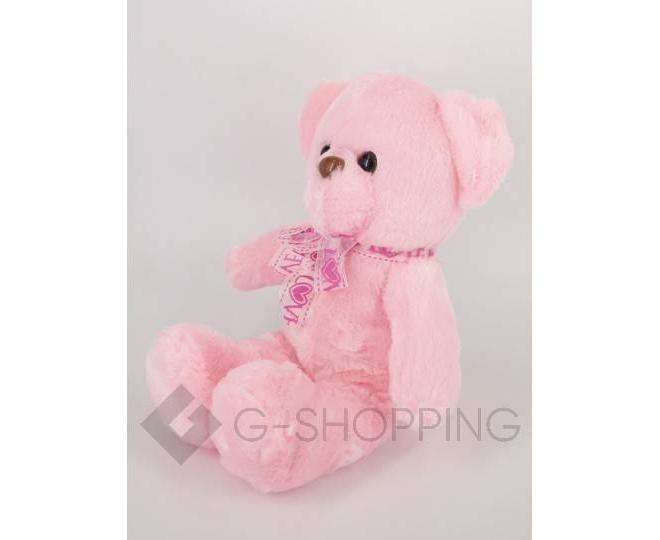 """Мягкая игрушка """"Светящийся мишка LOVE"""" розовая, фото 3"""