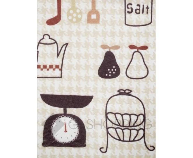 """Антискользящий влагопоглощающий напольный коврик """"Kitchen"""" R012-U-L, фото 4"""