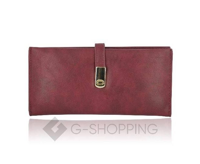 Женский кошелек Kingth Goldn с068 пурпурный, фото 1