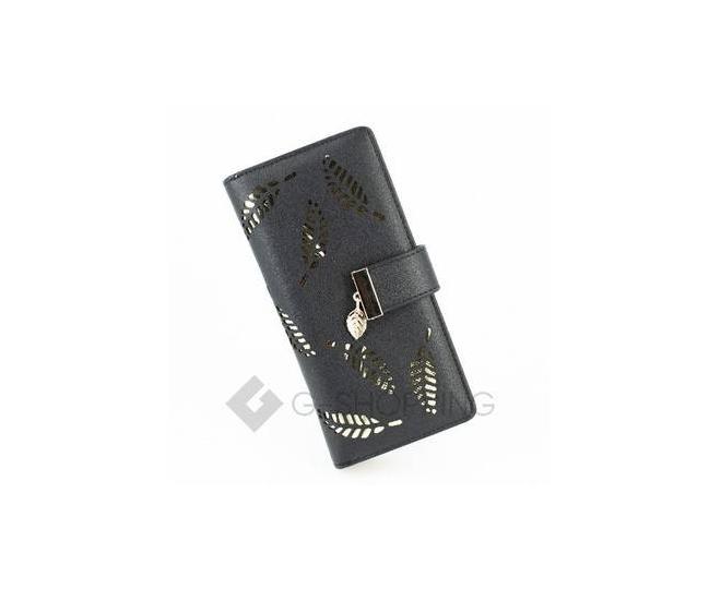 Кошелек женский черный C135/01 Kingth Goldn, фото 1