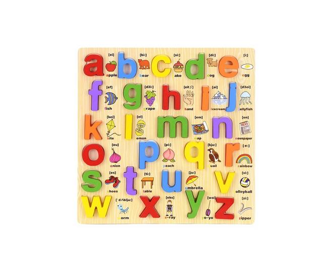 Развивающая мозаика Английский алфавит для детей, фото 1