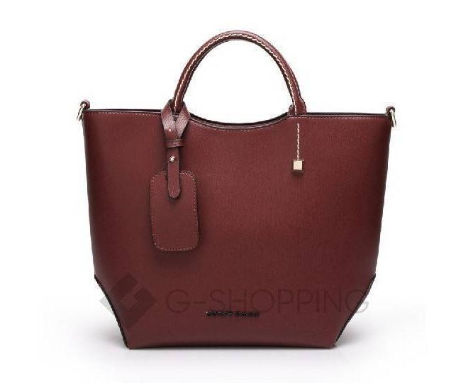 Женская красная сумка среднего размера на молнии c085 Kingth Goldn, фото 3