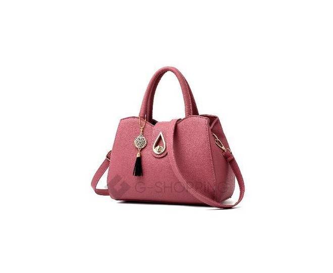 Женская повседневная черная сумка на молнии среднего размера Kingth Goldn, фото 1