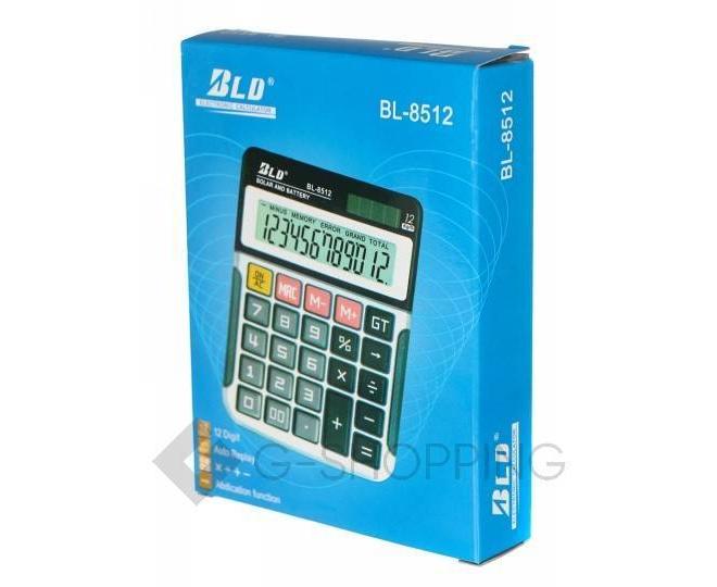 Настольный 12-разрядный калькулятор в пластиковом корпусе BL-8512 JSQ07 Удачная покупка, фото 1