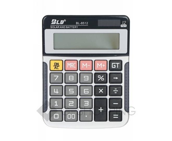 Настольный 12-разрядный калькулятор в пластиковом корпусе BL-8512 JSQ07 Удачная покупка, фото 2