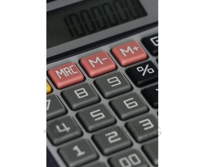 Настольный 12-разрядный калькулятор в пластиковом корпусе BL-8512 JSQ07 Удачная покупка, фото 4